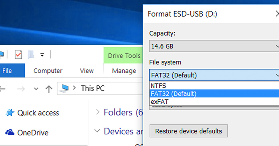 Get rid of Storage Issues and understand what is NTFS & exFAT?