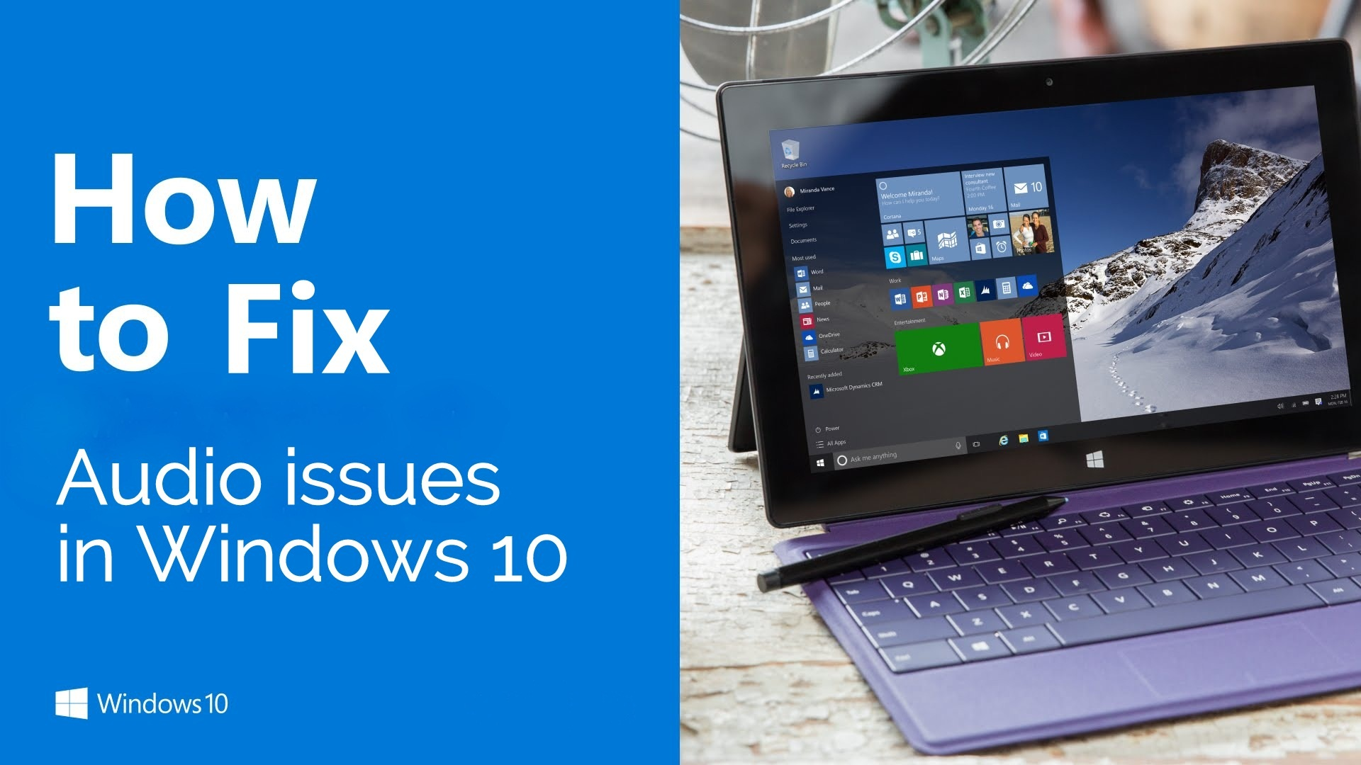 Windows 10 Sounds Problems And How To Fix Them