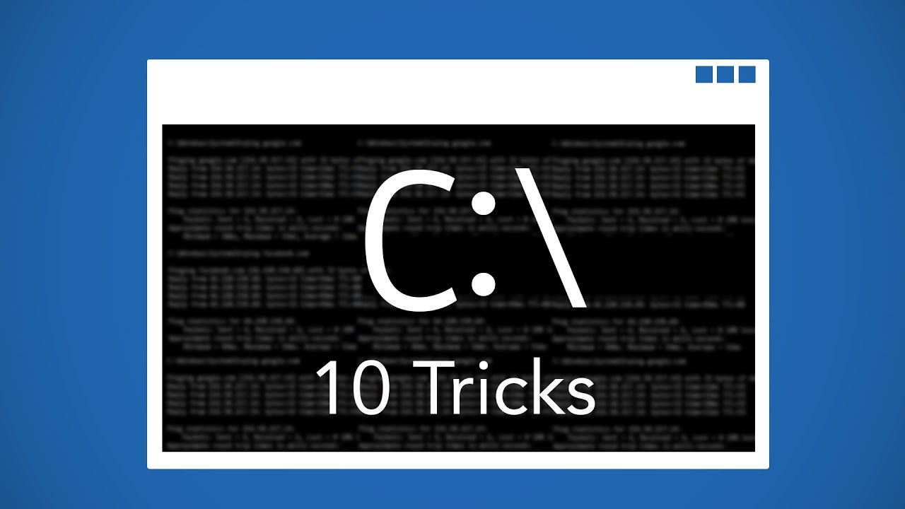 command prompt tricks