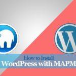 WordPress with MAMP