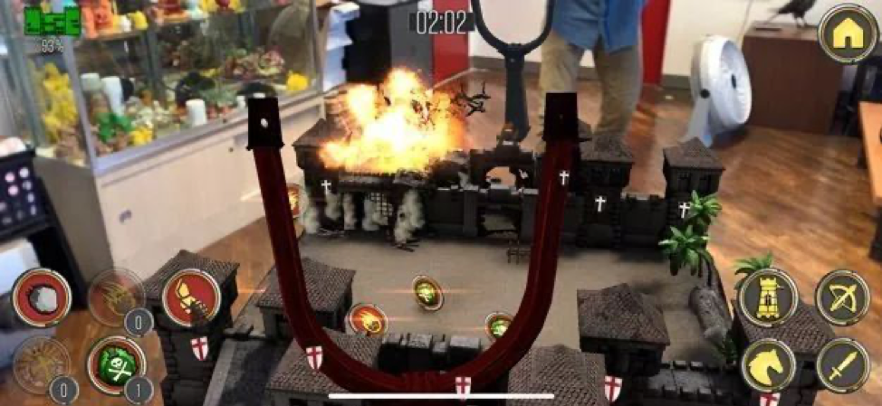 Knightfall AR is a strategy game available on iOS and Android devices.