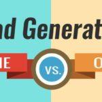 Online Vs. Offline Lead Generation