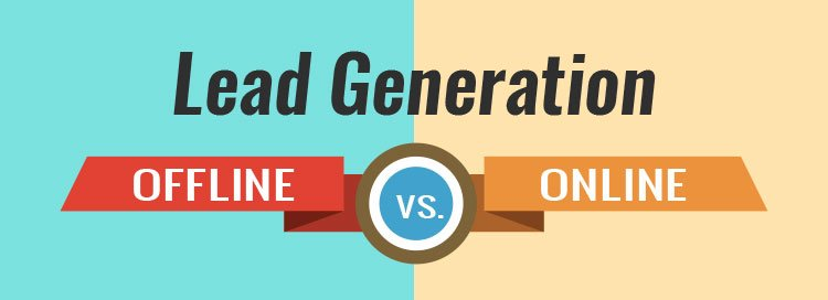 Online Vs. Offline Lead Generation – What's The Difference?