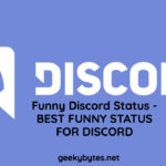 Funny Discord Status - BEST FUNNY STATUS FOR DISCORD