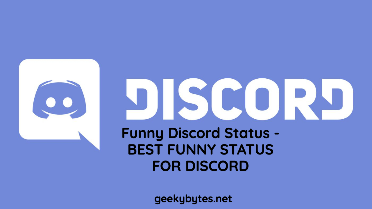Funny Discord Status – BEST FUNNY STATUS FOR DISCORD