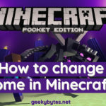 How to change Biome in Minecraft?