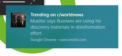 Reddit Desktop Notification