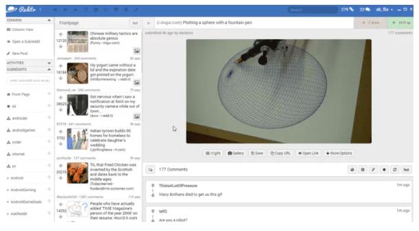 Reddit Client App -Revamp the look
