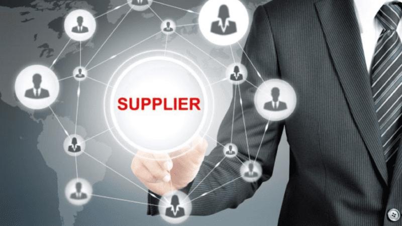 Supplier management process